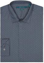 Perry Ellis Slim Fit Wavy Dot Shirt