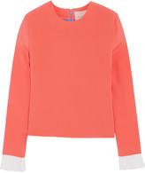 Roksanda Alina color-block silk-blend top