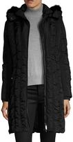 Zac Posen Women's Carla Hooded Midi Coat