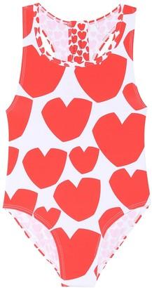 Stella Mccartney Kids Heart one-piece swimsuit