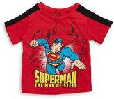 Nannette Boys 2-7 Little Boys Superman Tee