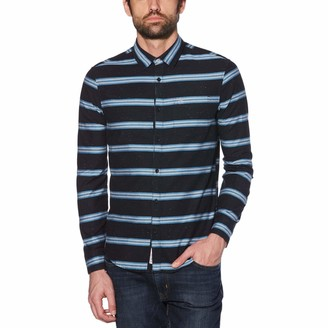 Original Penguin Engineered Horizontal Stripe Shirt
