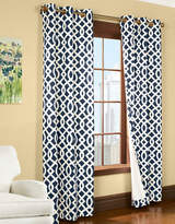 Home Outfitters Large Trellis Printed Curtain Panel