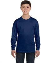 Gildan Youth Heavy Cotton Long Sleeve T-Shirt - XS
