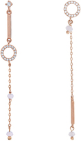 Accessorize Rose Gold Mismatch Earrings