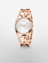 Calvin Klein Round Rose Gold Watch