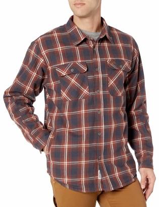 Smith's Workwear Men's Fleece Lined Shirt Jacket