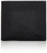 Prada Men's ID-Window Billfold-BLACK