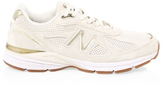 New Balance Men's 990 Suede & Mesh Sneakers