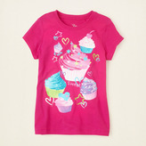 Children's Place Lots of cupcakes graphic tee