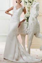 David Tutera for Mon Cheri Sheath Wedding Dress