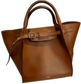 Celine Big Bag Camel Leather Handbags