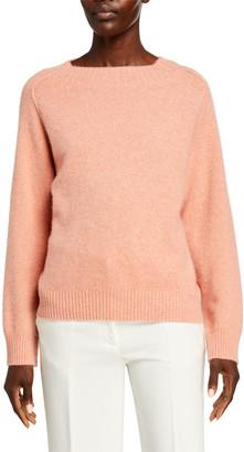 Vince Band-Collar Raglan Cashmere Sweater