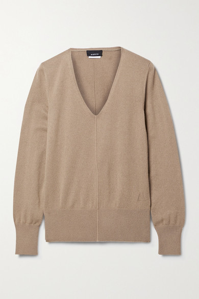 Thumbnail for your product : Akris Cashmere Sweater - Camel
