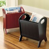 Wooden Magazine Rack