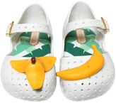 Mini Melissa Banana Perforated Melflex Shoes