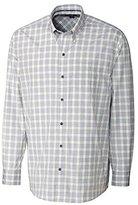 Cutter & Buck Men's Long Sleeve Terrain Check Shirt