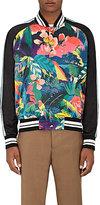 Valentino Men's Souvenir Floral Bomber Jacket