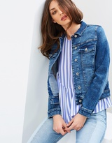 Mng Cropped Fitted Vicky Jacket