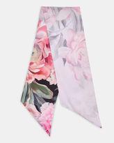 Ted Baker Painted Posie skinny scarf