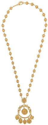 Dolce & Gabbana Votive Image Drop Necklace