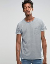 !solid Solid Fine Stripe T-shirt