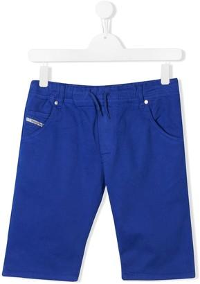 Diesel TEEN drawstring shorts