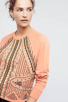 Akemi + Kin Beaded Rose Sweatshirt
