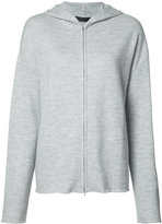 Calvin Klein hooded sweatshirt - women - Cashmere - S