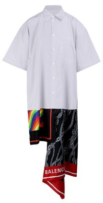 Balenciaga Scarf shirt dress
