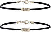 Accessorize 2x BFF Cube Choker Necklaces
