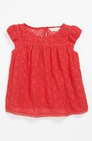 Pumpkin Patch Lace Top (Toddler)
