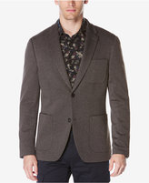 Perry Ellis Men's Extra Slim-Fit Heathered Knit Jacket