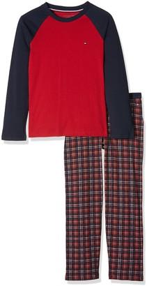 Tommy Hilfiger Boy's Holiday Set LS Pyjama