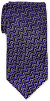 Missoni Zigzag Diamond Print Silk Tie