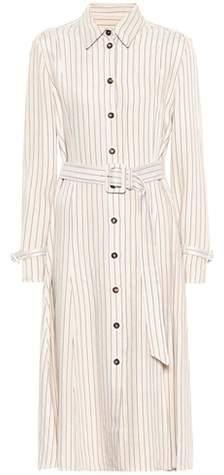 Altuzarra Fiona striped twill shirt dress