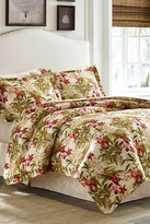 Tommy Bahama Daintree Tropical King Comforter 4-Piece Set - Coral
