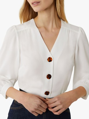 Warehouse Button Front Top