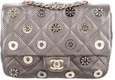 Chanel Small Metallic CC Medals Flap Bag