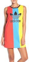adidas Trefoil Colorblock Jersey Tank Dress