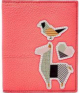 Fossil Llama-Appliqued RFID Passport Case