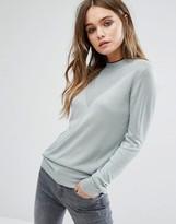Vila High Neck Long Sleeve Sweater