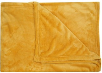 M&Co Large plush fleece throw