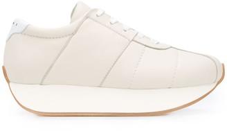 Marni Big Foot platform heel sneakers