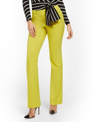 New York & Co. Petite Barely Bootcut Pant - Mid Rise - Double Stretch - 7th Avenue