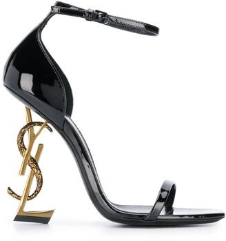 Saint Laurent Opyum ankle strap sandals