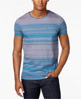 HUGO BOSS HUGO Men's Striped Cotton T-Shirt