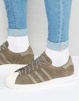 adidas Superstar 80's Sneakers In Brown S75848