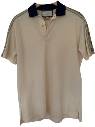 Gucci Beige Cotton Polo shirts