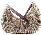 Stephanie Large Slouchy Hobo Bag in Gold Metallic